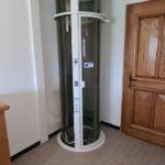 Ascenseur pneumatique cylindrique PVE